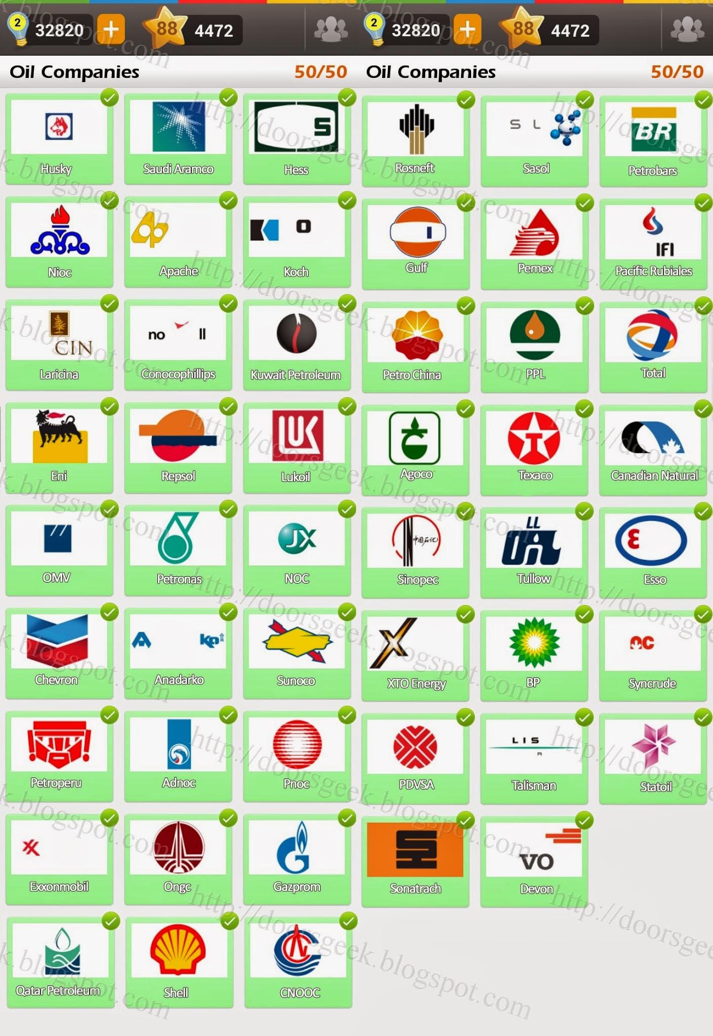 oil and gas company logos quiz wwwimgkidcom the